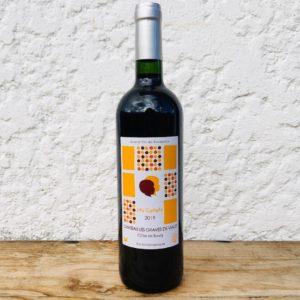 Château Les Graves de Viaud Les Cadets 2019, vin naturel de Bordeaux