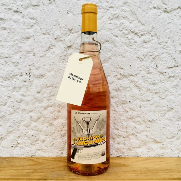 Château la Colombière Les Frontons Flingueurs rosé 2020, sélection vin BIO et naturels On s'occupe du Vin