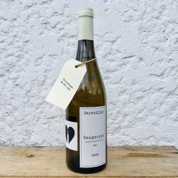 Domaine Barouillet Bergecrac blanc 2020, une sélection On s'occupe du Vin