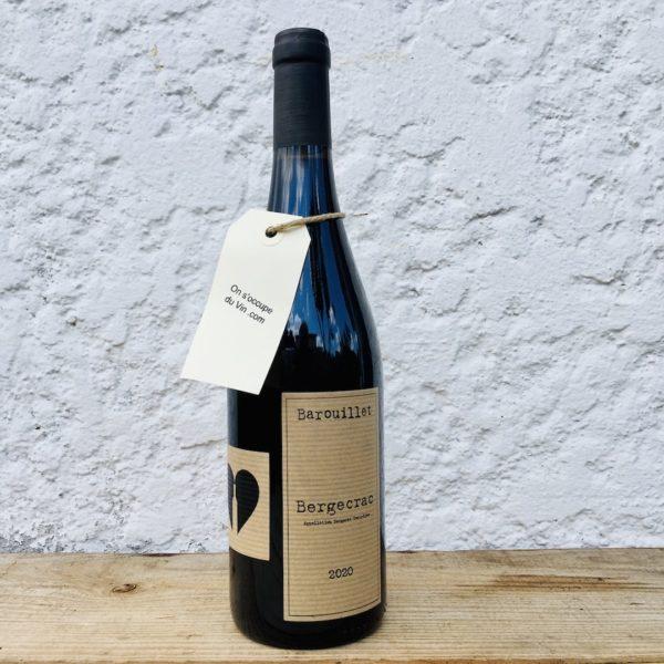 Domaine Barouillet Bergecrac rouge 2020, une sélection On s'occupe du Vin