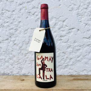 Domaine la Garrelière Gamay Sans Tralala 2020, une sélection On s'occupe du Vin